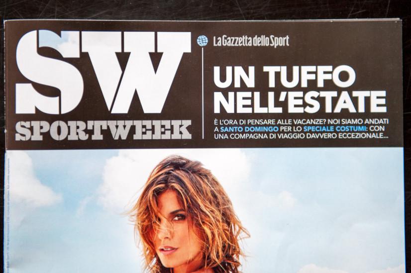 Sportweek Cover 09/06/2012