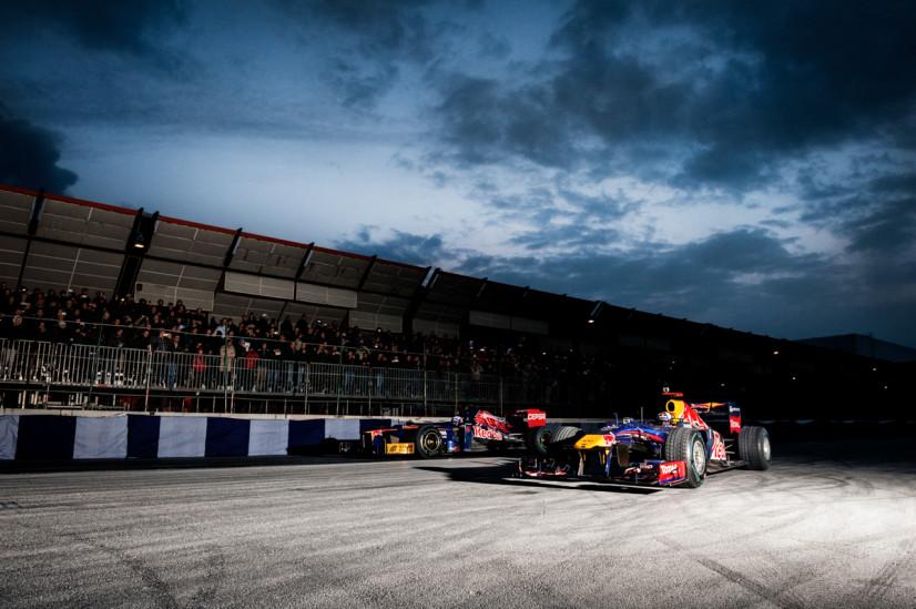 Daniel Ricciardo, David Coulthard - Motor Show