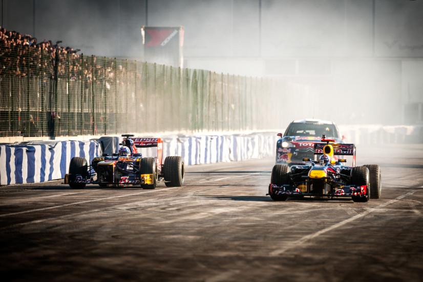 Ricciardo, Loeb, Coulthard - Motor Show