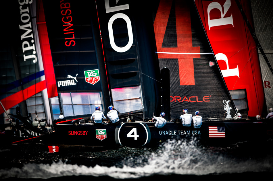 Oracle Team USA - America's Cup Naples