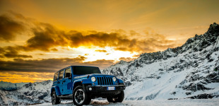 Jeep Wrangler advertise