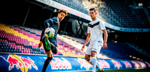 Hachim Mastour at the Red Bull Arena