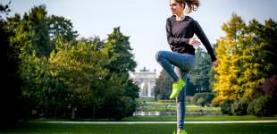 Chiara Ferragni workout with Nike Women