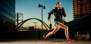 Nike training under the bridge
