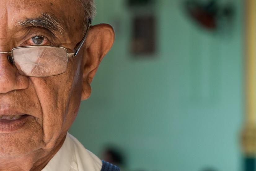 Portrait at Shwedagon Paya